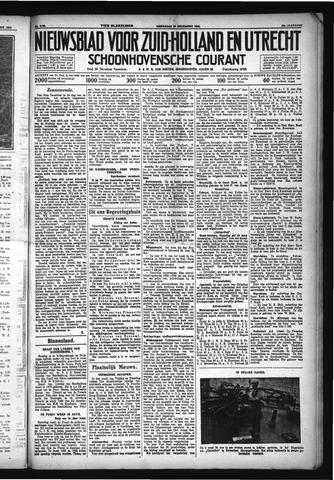 Schoonhovensche Courant 1932-12-28