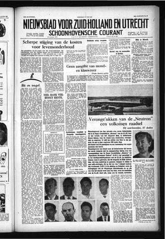 Schoonhovensche Courant 1957-07-17