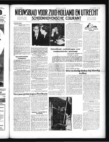 Schoonhovensche Courant 1952-06-11