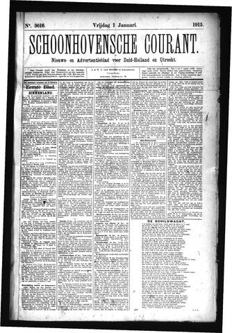 Schoonhovensche Courant 1915