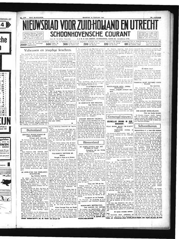 Schoonhovensche Courant 1937-02-15