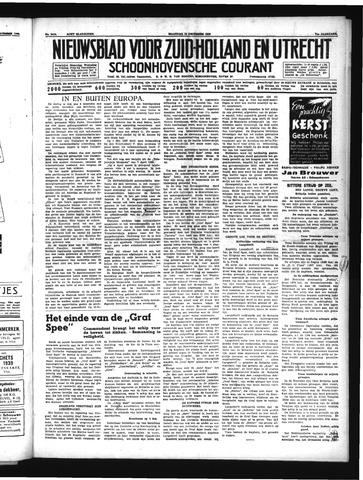 Schoonhovensche Courant 1939-12-18