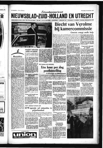 Schoonhovensche Courant 1969-09-24