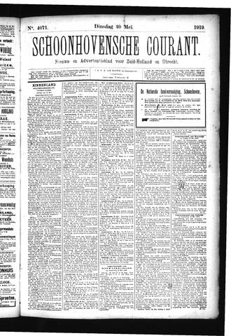 Schoonhovensche Courant 1919-05-20