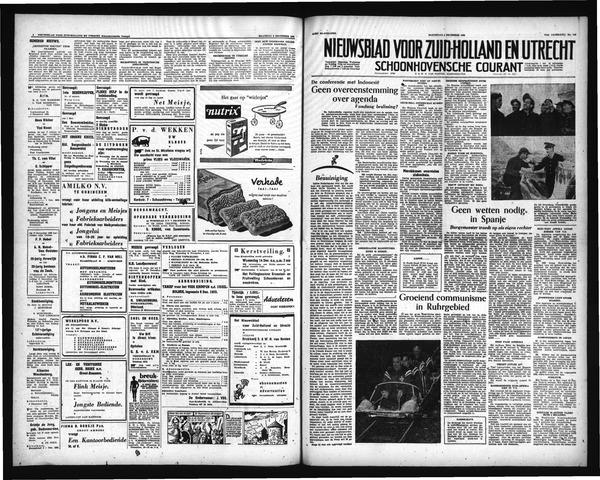 Schoonhovensche Courant 1955-12-08