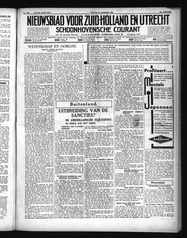 Schoonhovensche Courant 1935-11-22