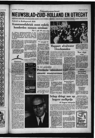 Schoonhovensche Courant 1970-03-20
