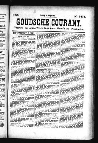 Goudsche Courant 1886-08-01