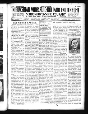 Schoonhovensche Courant 1939-08-11