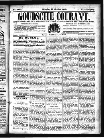 Goudsche Courant 1918-10-29