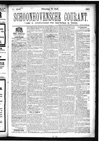 Schoonhovensche Courant 1917-07-17