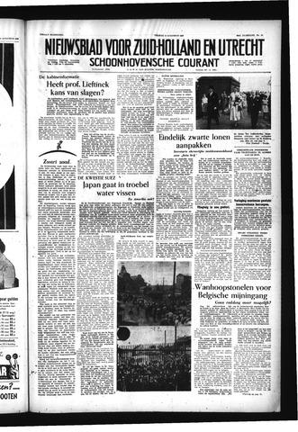 Schoonhovensche Courant 1956-08-10