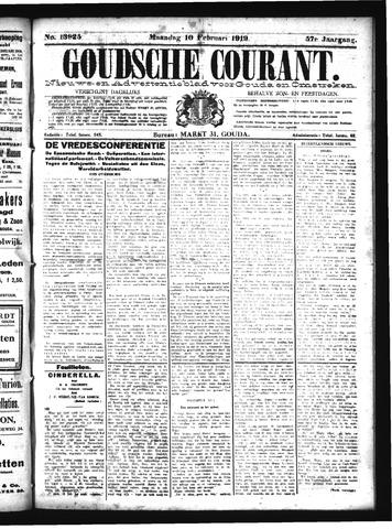 Goudsche Courant 1919-02-10