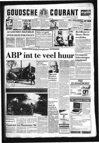 Goudsche Courant 1986-09-01