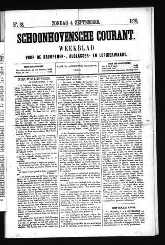 Schoonhovensche Courant 1870-09-04
