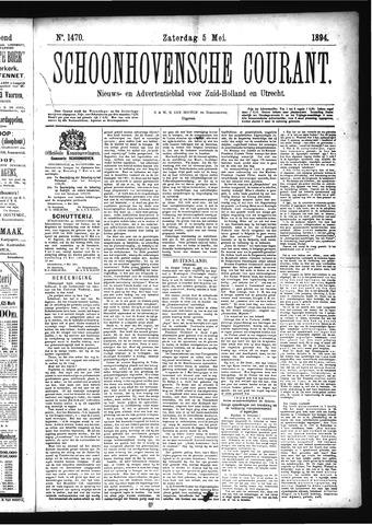 Schoonhovensche Courant 1894-05-05