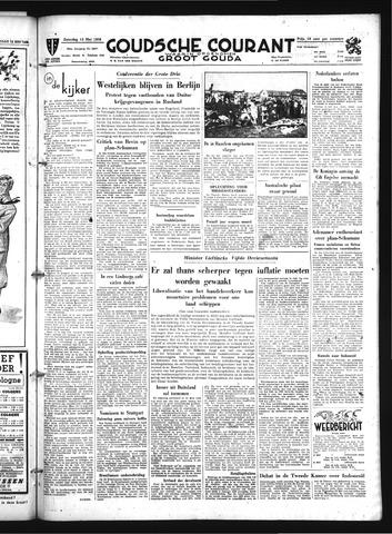 Goudsche Courant 1950-05-13