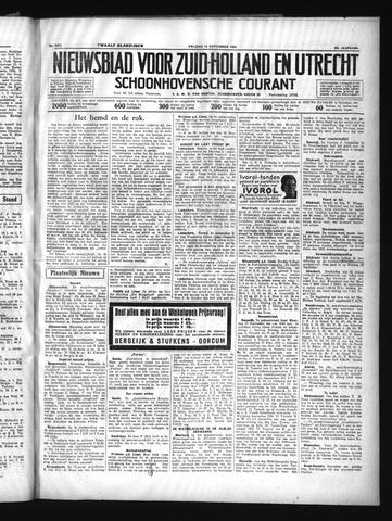 Schoonhovensche Courant 1934-09-14