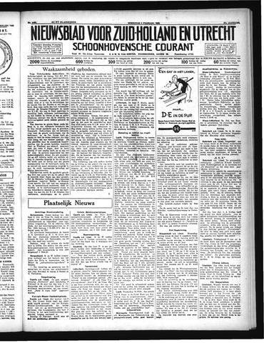 Schoonhovensche Courant 1935-02-06
