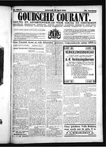 Goudsche Courant 1933-04-22