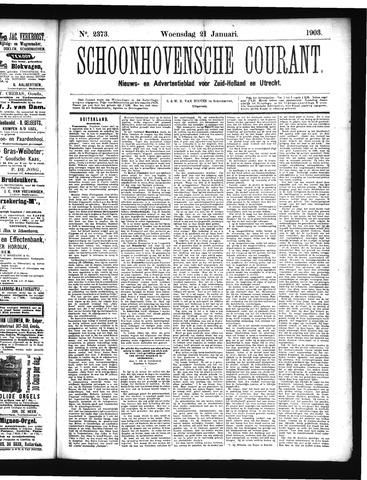 Schoonhovensche Courant 1903-01-21