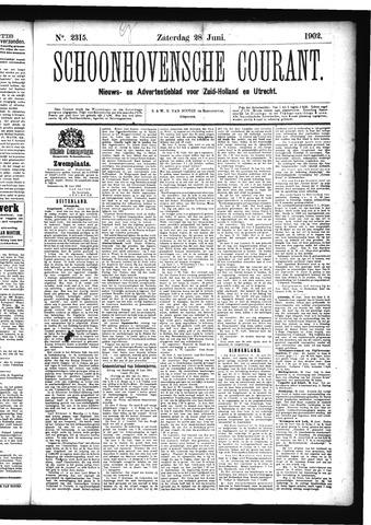 Schoonhovensche Courant 1902-06-28