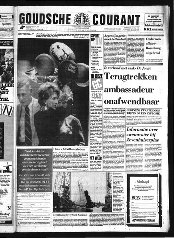 Goudsche Courant 1985-07-17