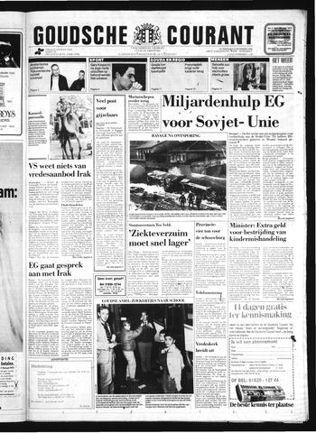 Goudsche Courant 1990-12-05