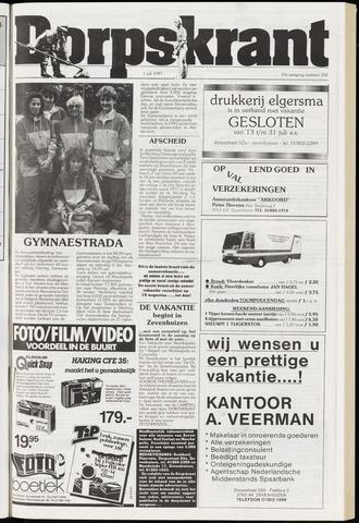Dorpskrant 1987-07-01