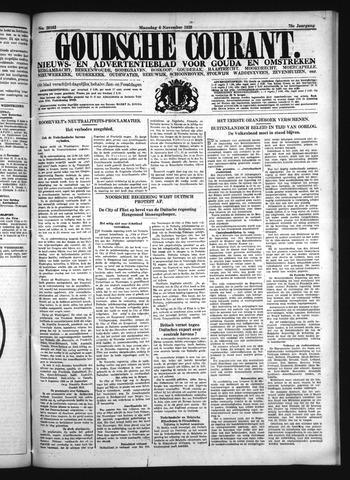 Goudsche Courant 1939-11-06
