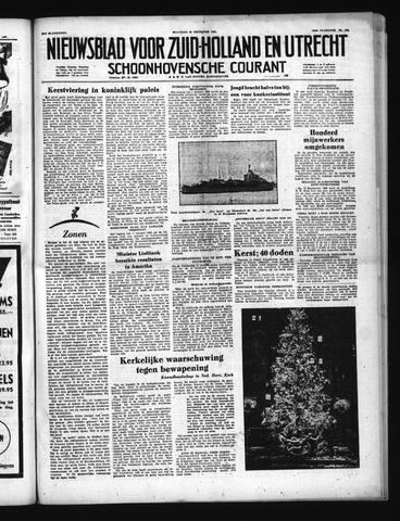 Schoonhovensche Courant 1951-12-24