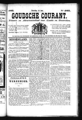 Goudsche Courant 1892-06-18