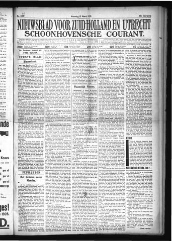 Schoonhovensche Courant 1928-03-12