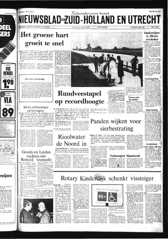 Schoonhovensche Courant 1973-06-04