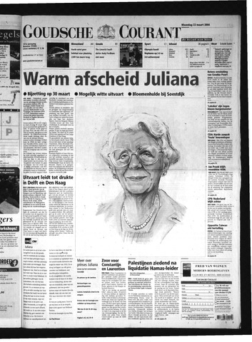 Goudsche Courant 2004-03-22