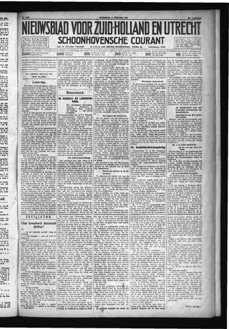 Schoonhovensche Courant 1931-02-11