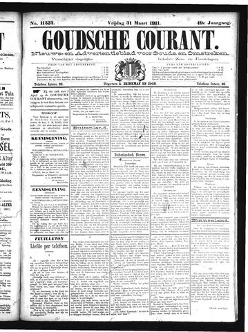 Goudsche Courant 1911-03-31