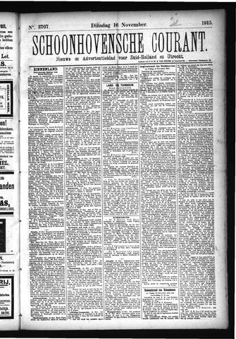 Schoonhovensche Courant 1915-11-16