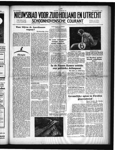 Schoonhovensche Courant 1952-02-18