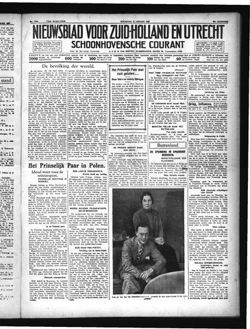 Schoonhovensche Courant 1937-01-13