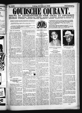 Goudsche Courant 1936-02-28
