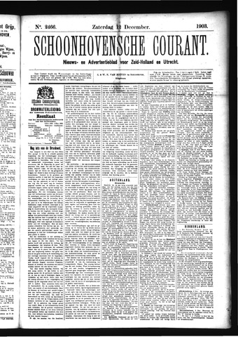 Schoonhovensche Courant 1903-12-12