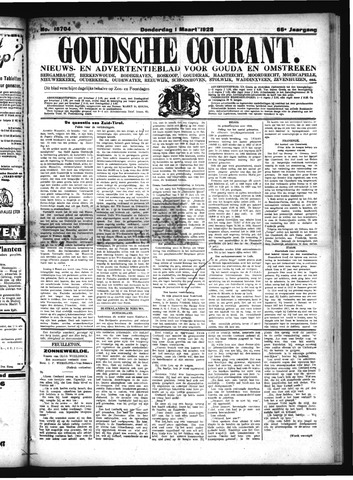 Goudsche Courant 1928-03-01