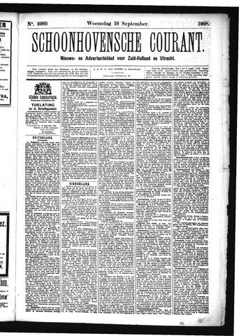 Schoonhovensche Courant 1908-09-16