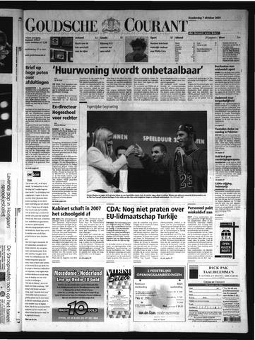 Goudsche Courant 2004-10-07
