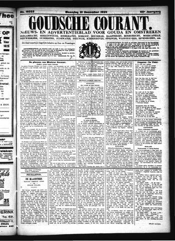 Goudsche Courant 1925-12-21