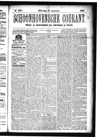 Schoonhovensche Courant 1899-08-19