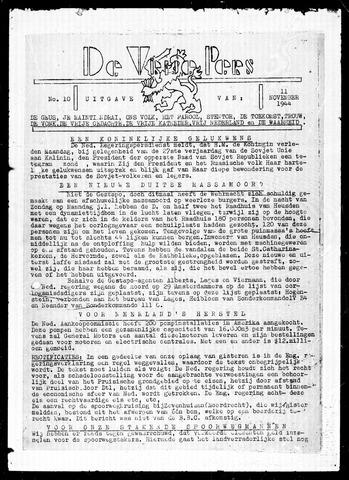De Vrije Pers 1944-11-11