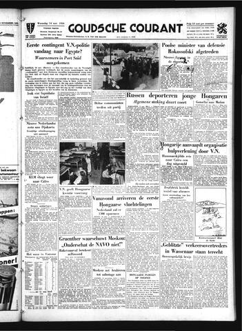 Goudsche Courant 1956-11-14