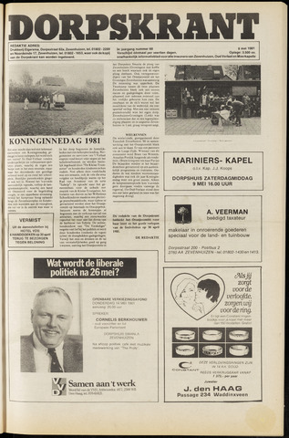 Dorpskrant 1981-05-08
